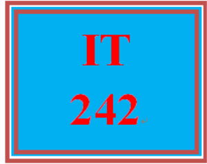 it 242 week 7 individual: commands and remote options assignment