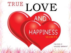true love & happiness secrets