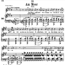 Am Meer D.957-12, Low Voice in A Major, F. Schubert | eBooks | Sheet Music