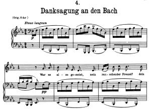 danksagung an den bach, d.795-4, low voice in e flat major, f. schubert (die schöne müllerin), pet