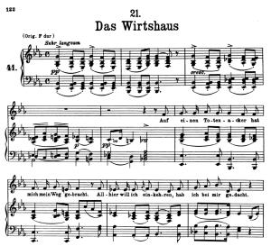 Das Wirtshaus, D.911-21, Low Voice in E Flat Major, F. Schubert | eBooks | Sheet Music