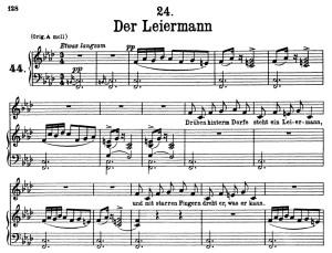 Der Leiermann, D.911-24, Low Voice in F Minor, F. Schubert | eBooks | Sheet Music
