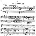 Der Lindenbaum, D.911-5, Low Voice in D Major, F. Schubert | eBooks | Sheet Music