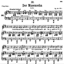 Der Musensohn, D.764, Low Voice in D Major, F. Schubert | eBooks | Sheet Music