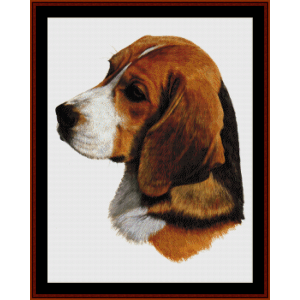 Beagle (New Edition) cross stitch pattern by Cross Stitch Collectibles | Crafting | Cross-Stitch | Wall Hangings