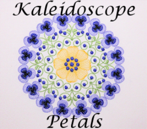 Kaleidoscope Petals EMD | Crafting | Embroidery