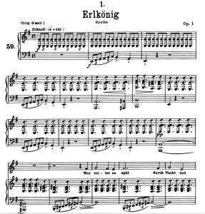 Erlkönig D.328, Low Voice in E minor, F. Schubert | eBooks | Sheet Music