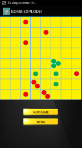 bomb explode! (an android app strategy game)