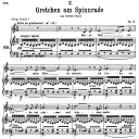 Gretchen am Spinnrade D.118, Low Voice in A minor, F. Schubert | eBooks | Sheet Music