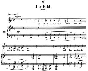ihr bild d.957-9, low voice in g minor, f. schubert