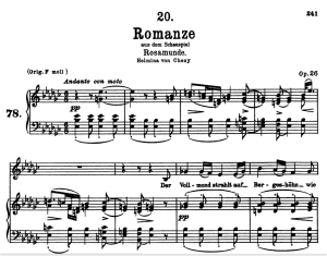 Romanze D.797, Low Voice in E-Flat minor, F. Schubert | eBooks | Sheet Music