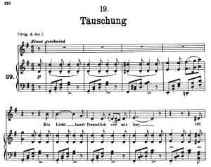 täuschung d.911-19, low voice in g major, f. schubert