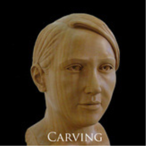 carving a female head ebook