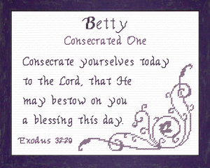 name blessings - betty
