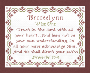 name blessings - brookelynn