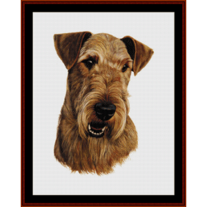 Airedale (New Edition) cross stitch pattern by Cross Stitch Collectibles | Crafting | Cross-Stitch | Wall Hangings