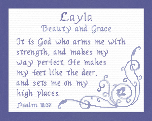 name blessings - layla