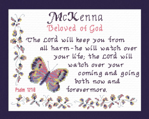 Name Blessings - McKenna | Crafting | Cross-Stitch | Other