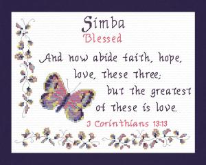name blessings - simba