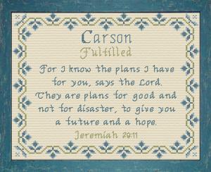 name blessings - carson 4