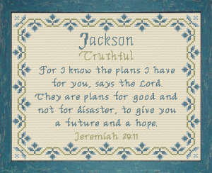 name blessings - jackson 2