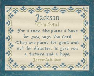 Name Blessings - Jackson 2 | Crafting | Crochet | Religious