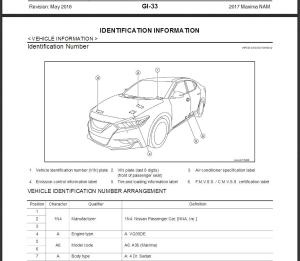 2017 nissan maxima a36 service repair manual & wiring diagram