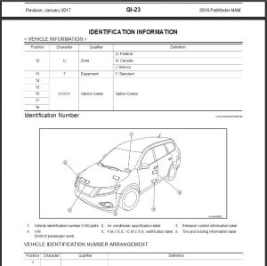 2016 nissan pathfinder r52 service & repair manual & wiring diagram