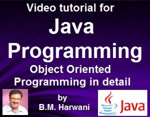 java video tutorial volume 1