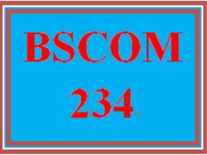 BSCOM 234 Week 3 Self-Assessment: Communication Style | eBooks | Education