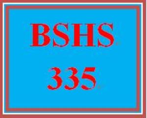 bshs 335 week 1 decision-making models