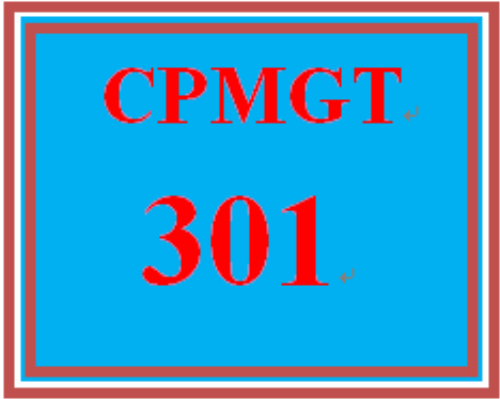 First Additional product image for - CPMGT 301 Week 1 Portfolio Management and Strategic Management Concepts and Organization Paper