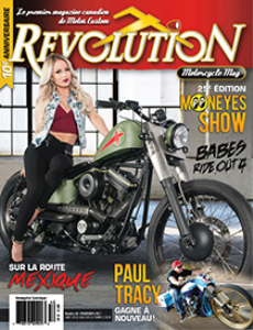 revolution motorcycle magazine vol.40 francais