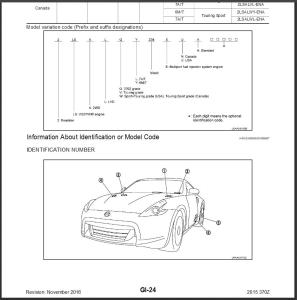 2015 nissan 370z z34 service & repair manual wiring diagram