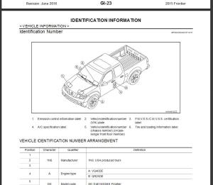 2015 nissan frontier d40 service repair manual & wiring diagram