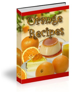 ebook on orangerecipes plr