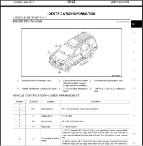 2015 nissan xterra n50 service & repair manual wiring diagram