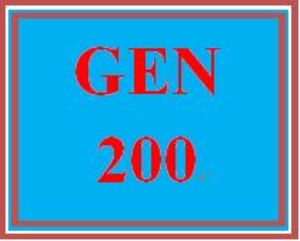 GEN 200 Week 5 Continuing Academic Success | eBooks | Education