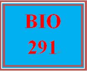 BIO 291 Entire Course | eBooks | Education