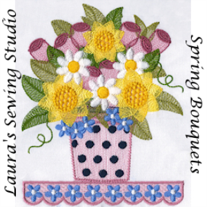 Laura's Spring Bouquet VIP   Crafting   Embroidery
