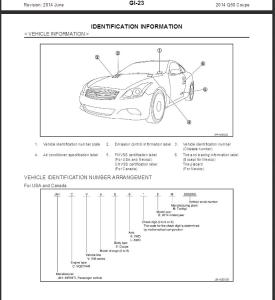 2014 infiniti q60 coupe v36 service repair manual & wiring diagram