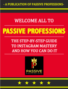 passive professions instagram mastery course
