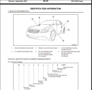 2015 infiniti q60 coupe v36 service repair manual & wiring diagram