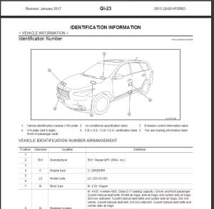 infiniti qx60 hybrid l50 2015 service repair manual & wiring diagram