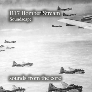 b17 bomber stream in the rain
