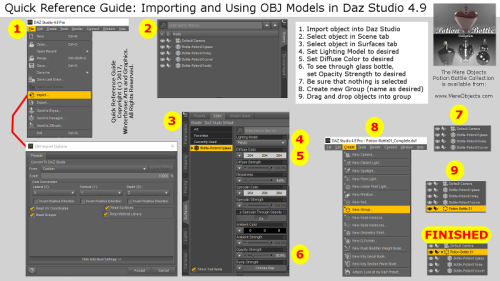 Second Additional product image for - Using Game Ready OBJ Models in Daz Studio 4.9