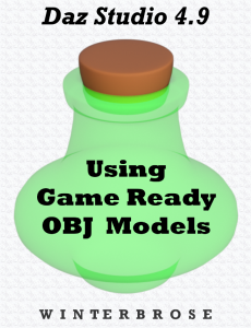 Using Game Ready OBJ Models in Daz Studio 4.9 | eBooks | Games