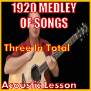 learn to play this 1920's medley of songs