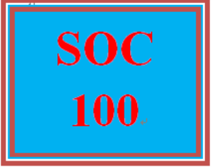 SOC 100 Week 5 Technology and Social Change | eBooks | Education