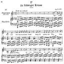 An schwager Chronos D.369, Low Voice in C minor, F. Schubert | eBooks | Sheet Music